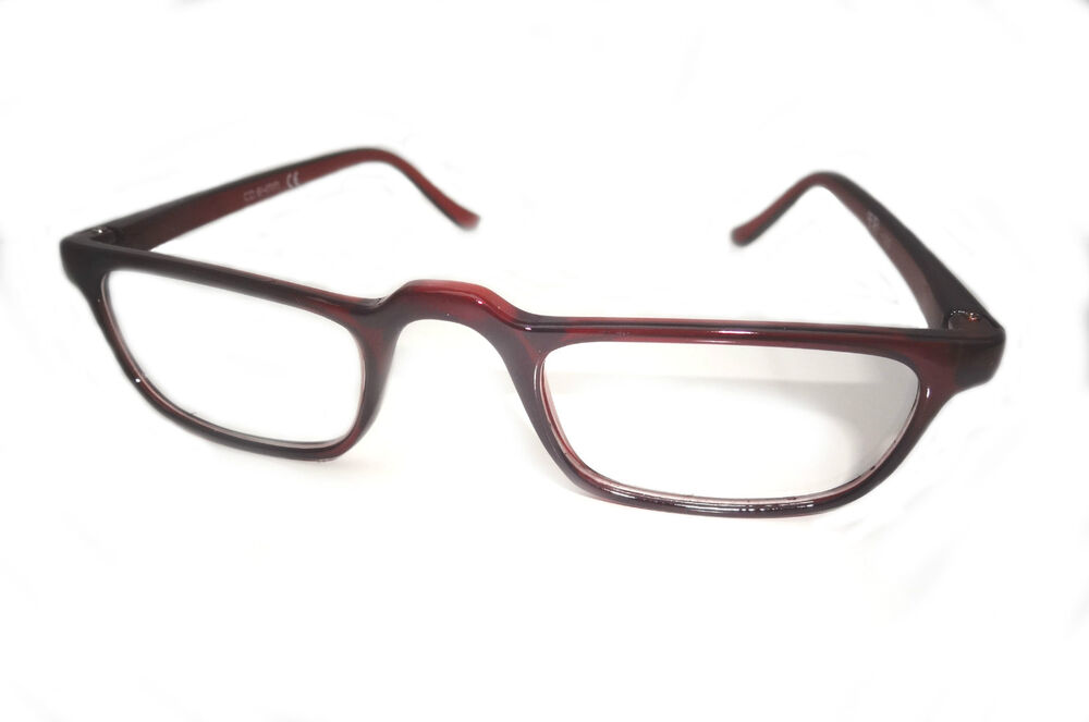 NEW READING GLASSES 60S STYLE VINTAGE LOOK HALF EYE FRAME ...