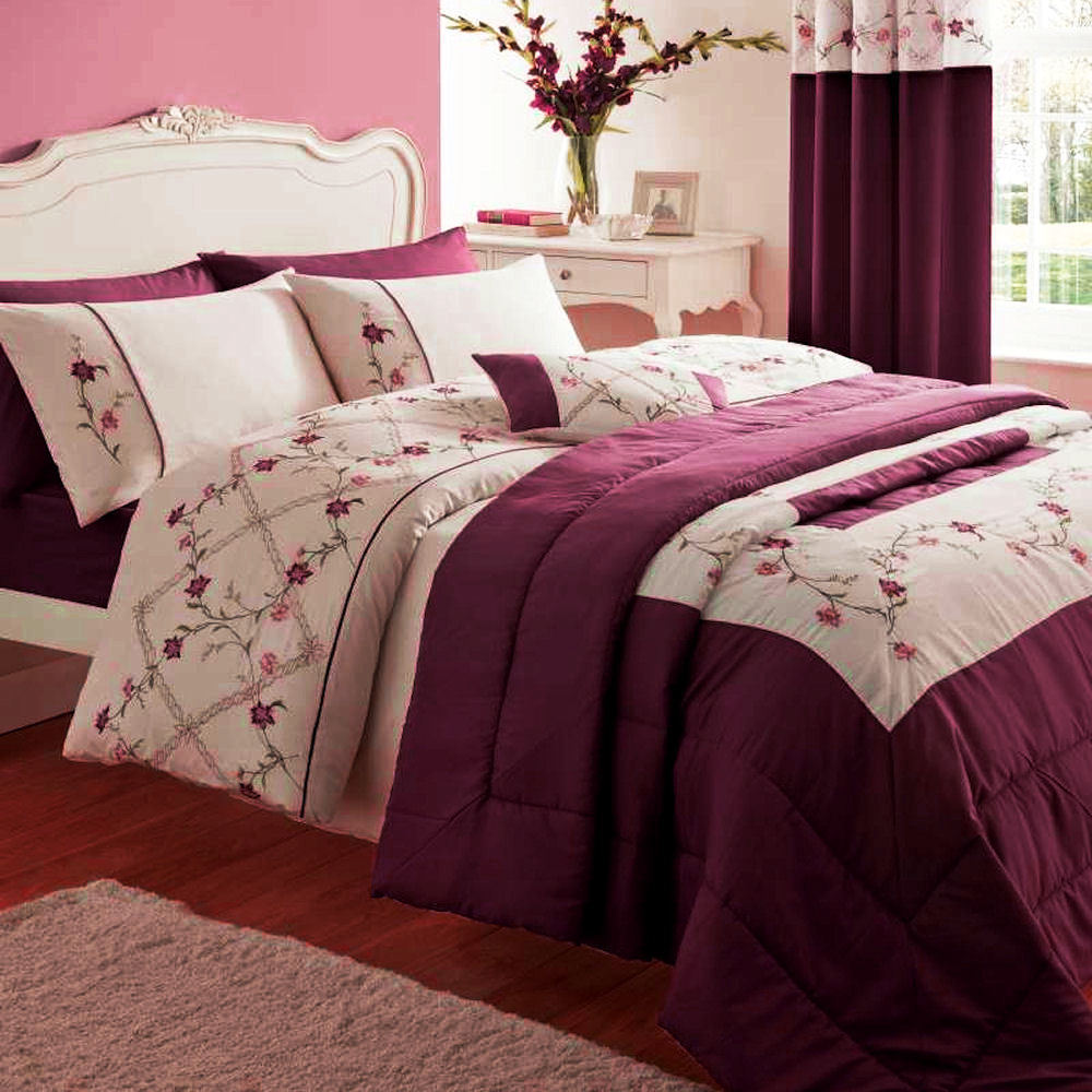 Plum Bedding Sets Uk