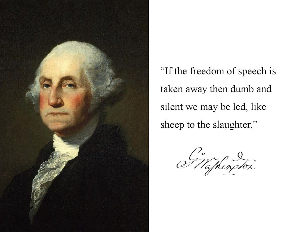 george washington quote George washington quotes tweet while we are contending for our own liberty, we should be very cautious not to violate the rights of conscience in others, ever considering that god alone is the judge of the hearts of men, and to him only in this case they are answerable.