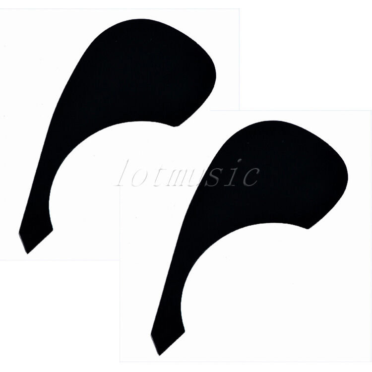 2 black acoustic guitar plate pickguard for yamaha replacement pvc guitar parts 634458567374 ebay. Black Bedroom Furniture Sets. Home Design Ideas