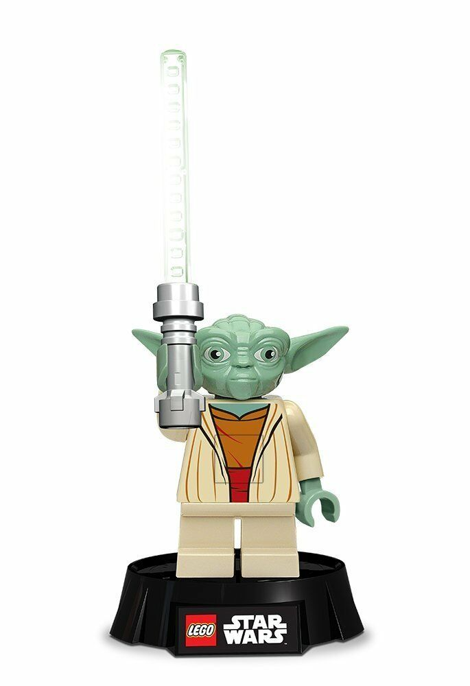 star wars lego led desk lamp yoda santoki 508241 ebay. Black Bedroom Furniture Sets. Home Design Ideas
