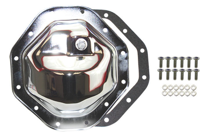 Jeep DODGE RAM 12 BOLT CHROME 9 1/4 REAR END DIFFERENTIAL COVER steel mopar | eBay