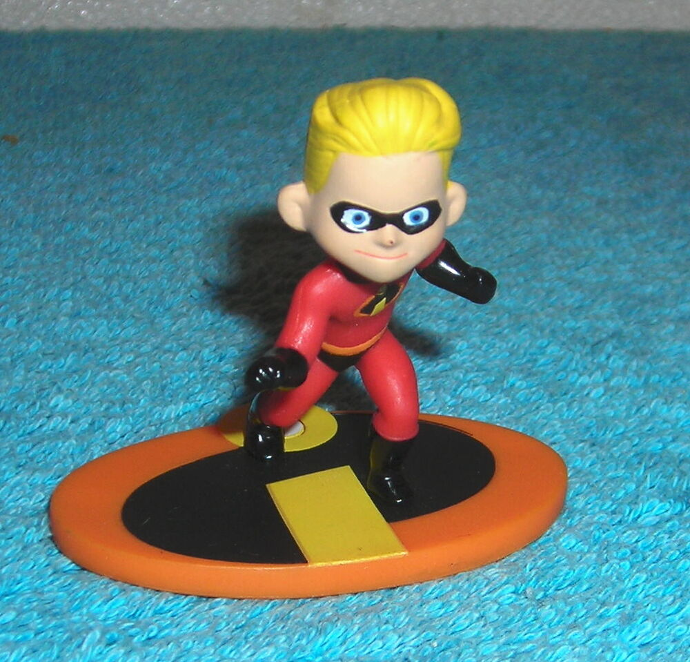 The Incredibles Toys : Disney the incredibles dash quot pvc mini toy figure cake