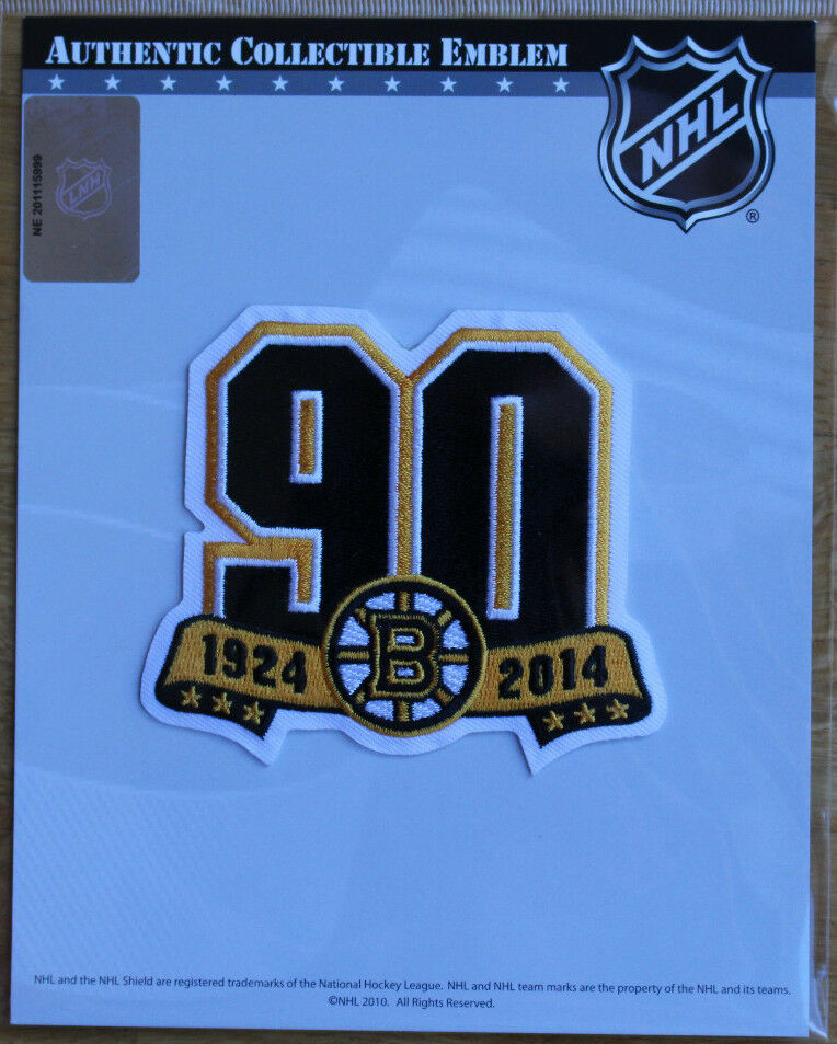 NHL Patch Boston Bruins 1924