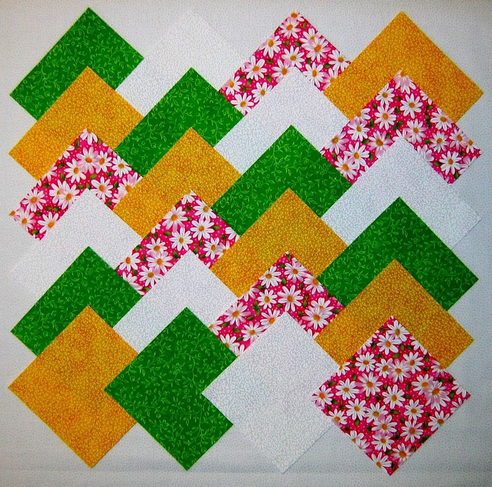 Quilt Patterns With Floral Fabric : 40 4