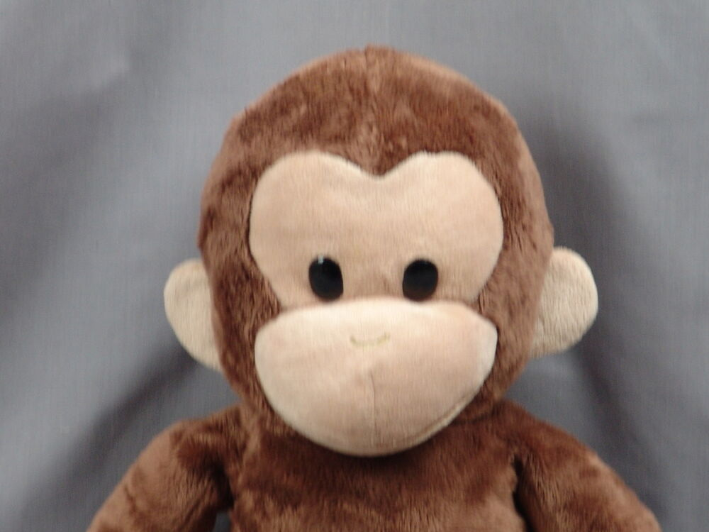big plush curious george applause stuffed animal monkey brown cartoon soft toy ebay. Black Bedroom Furniture Sets. Home Design Ideas