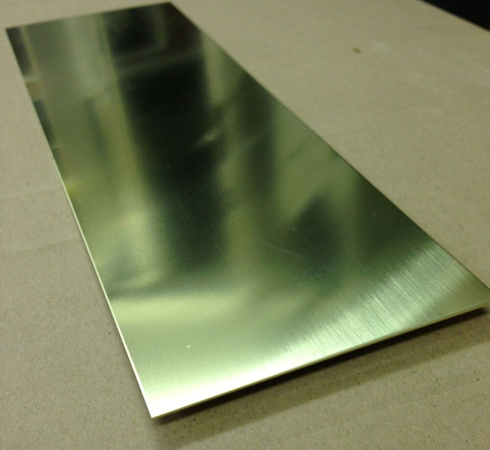 quality brass sheet 1mm thick 300mm x 100mm
