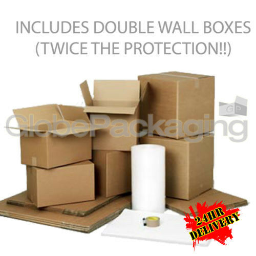 Large cardboard box house moving removal packing kit ebay