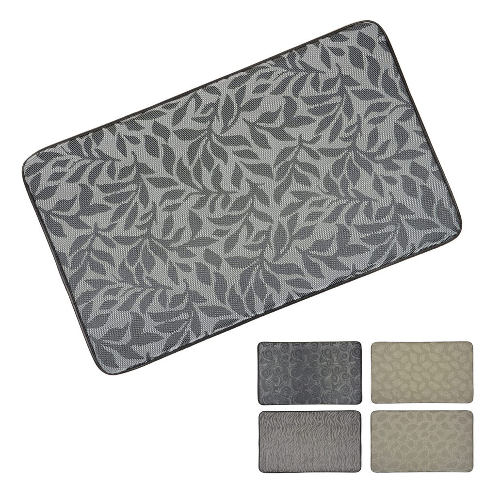 memory foam kitchen floor mat memory foam anti fatigue anti stress comfort home kitchen 9139