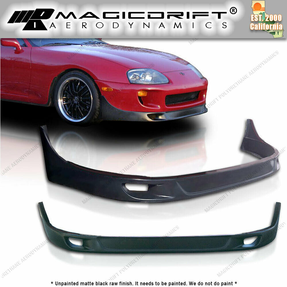 93 94 95 96 97 98 toyota supra mk4 front bumper body lip. Black Bedroom Furniture Sets. Home Design Ideas