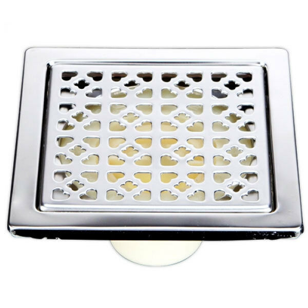 Bathroom Floor Drain Strainer : Bathroom kitchen stainless steel square shape floor drain