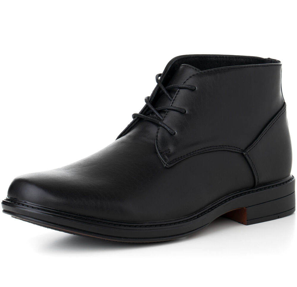 Mens Over The Ankle Dress Shoes
