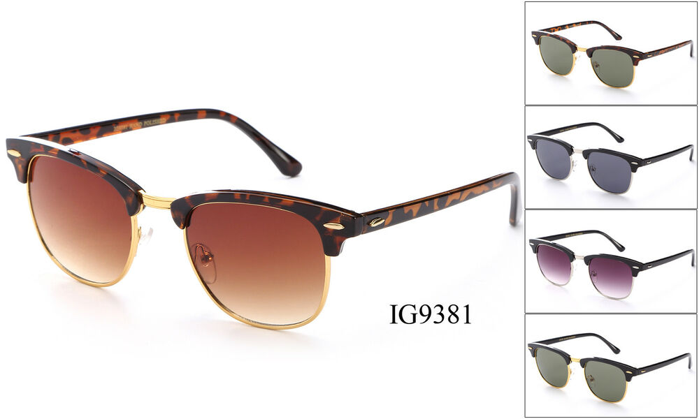 Mens 80s and 1960s style retro sunglasses Classic vintage ...