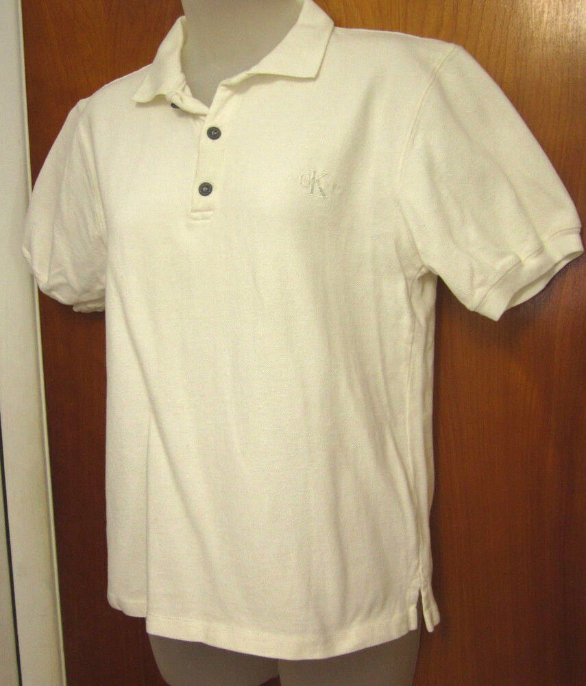 Calvin klein jeans med polo shirt s retro embroidery