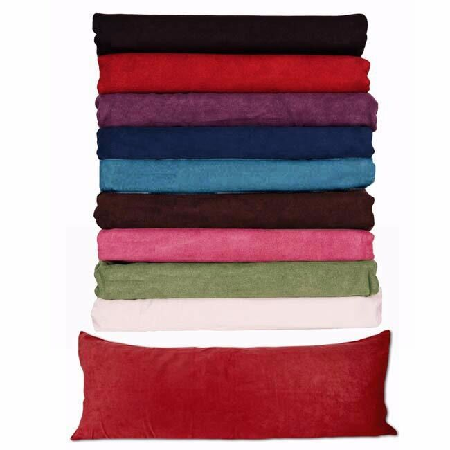 """7Body Pillow (( COVER )) Case Soft Micro Suede New 20""""x 54 ..."""