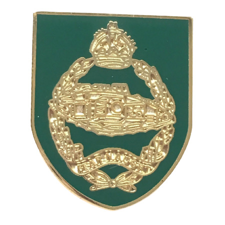 img-Royal Tank Regiment - MOD Military Approved Army Enamel Badge