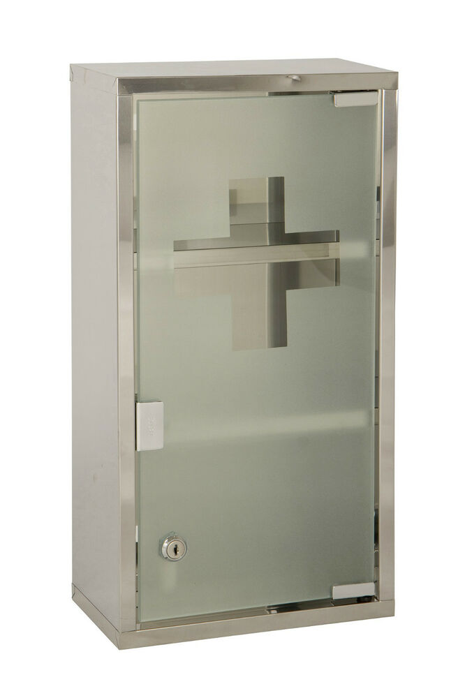 locking wall cabinet wall mounted lockable 2 large medicine cabinet 22786