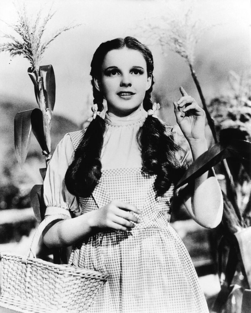 JUDY GARLAND DOROTHY WIZARD OF OZ 8X10 GLOSSY PHOTO ...