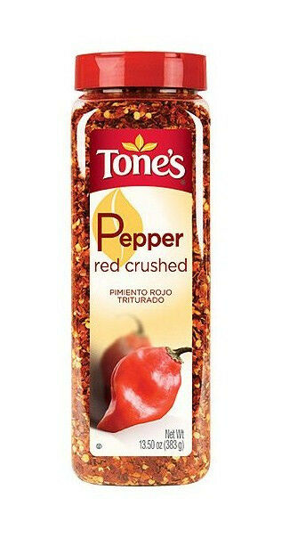 crushed red pepper tone s crushed pepper 13 5oz shaker ebay 30480