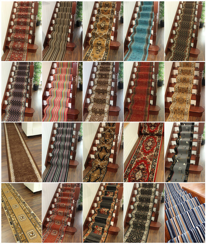Thick Stair Carpet Runner Extra Long Wide Narrow Cheap