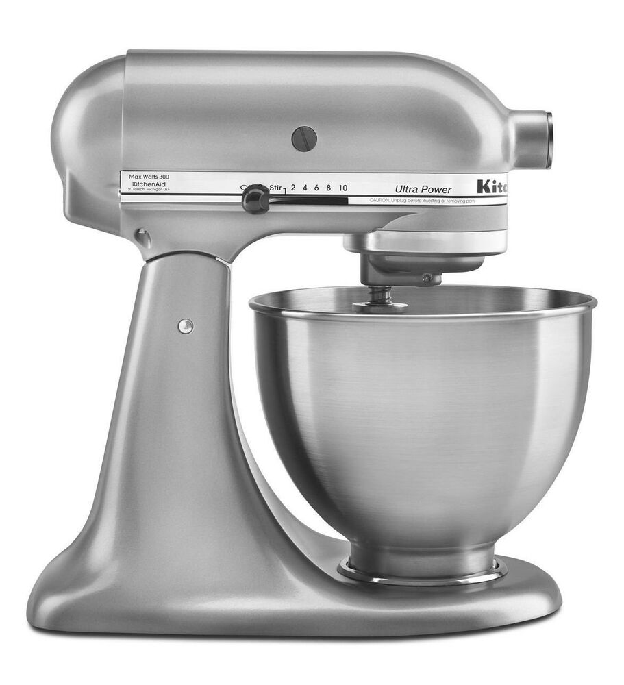 new made usa kitchenaid ultra power ksm95cu 10speed stand mixer 4 5 quart silver 50946000015 ebay. Black Bedroom Furniture Sets. Home Design Ideas