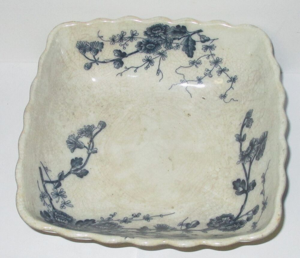 Flow Blue History and Value of Blue-and-White Antique China