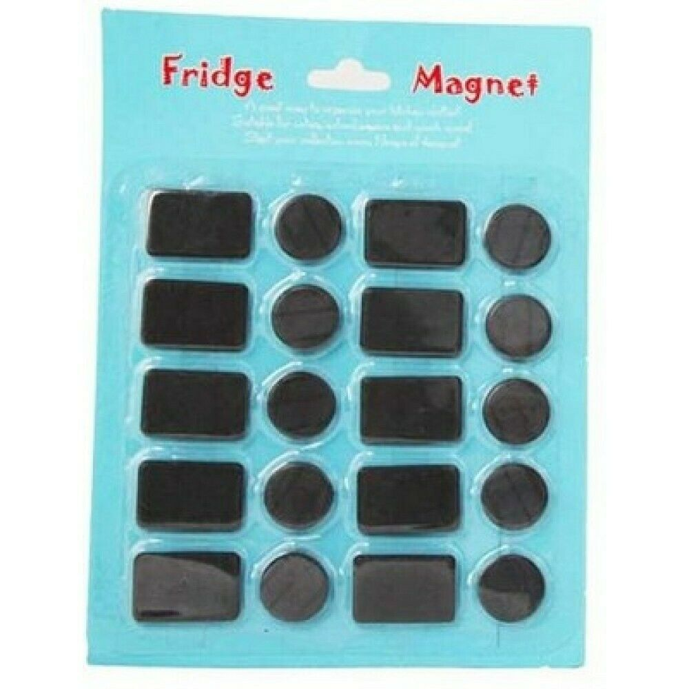 20pce assorted craft magnets ebay for Where to buy magnets for crafts