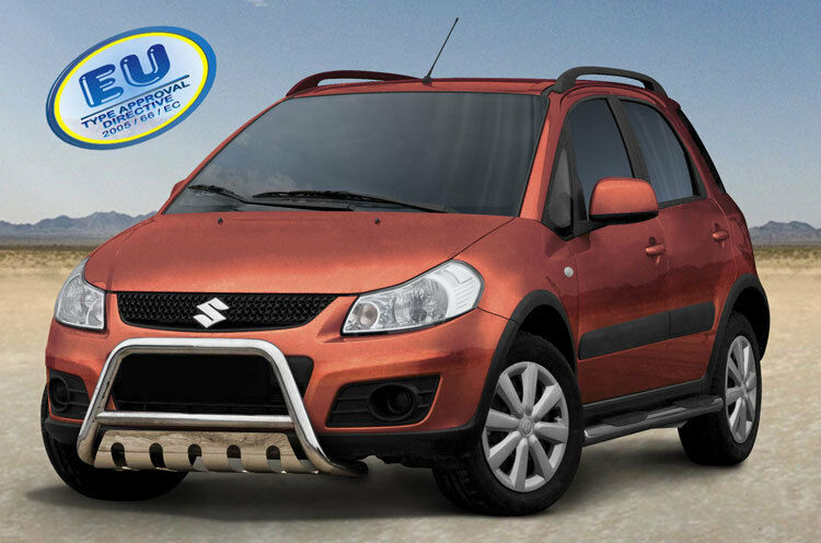 suzuki sx4 2009 up ce approved bull bar push bar grill. Black Bedroom Furniture Sets. Home Design Ideas