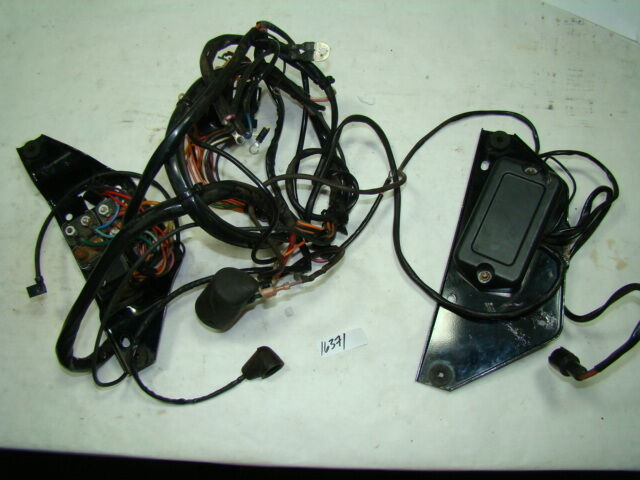 Harley Fxr Wiring Harness   Electrical Panels   Ignition