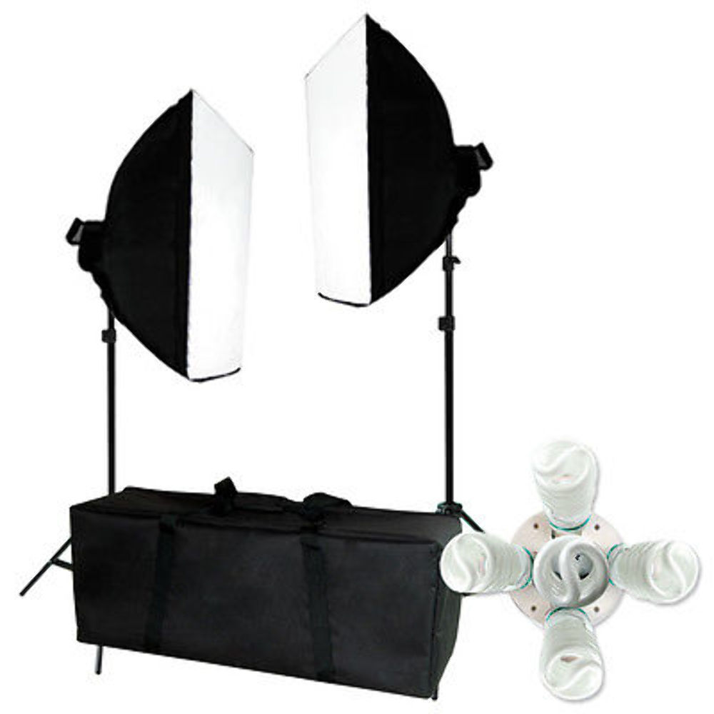 Optex Photo Studio Lighting Kit Review: 2000w Photo Studio Video Continuous Lighting Kit