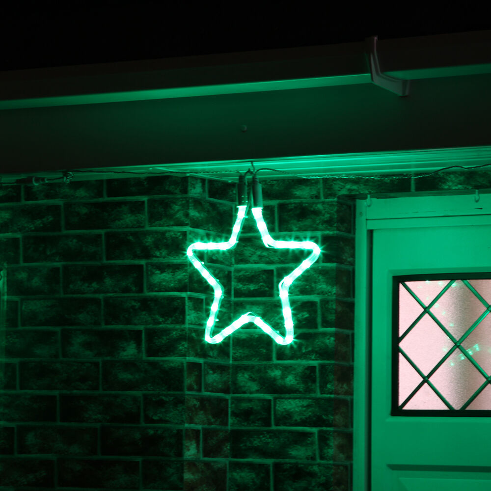 Led Decoration Lights: 30CM OUTDOOR GARDEN CONNECTABLE CHRISTMAS STAR SILHOUETTE