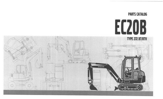volvo excavator ec20b parts manual ebay User Manual PDF User Manual