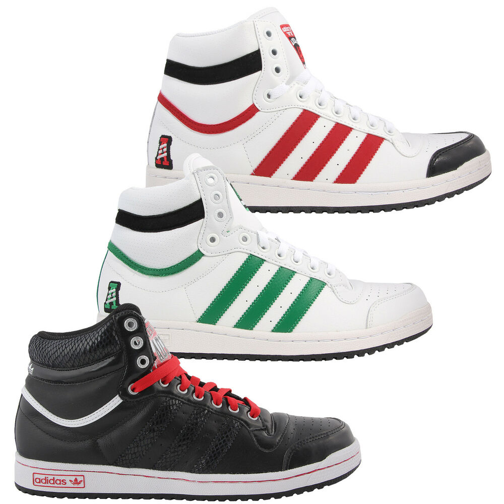 adidas originals top ten hi top sneaker schuhe shoes oldschool superstar 39 46 ebay. Black Bedroom Furniture Sets. Home Design Ideas