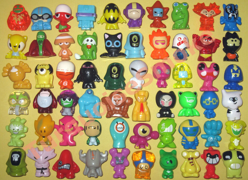 60 gogos crazy bones series 1 2 3 20 per series near mint condition ebay. Black Bedroom Furniture Sets. Home Design Ideas
