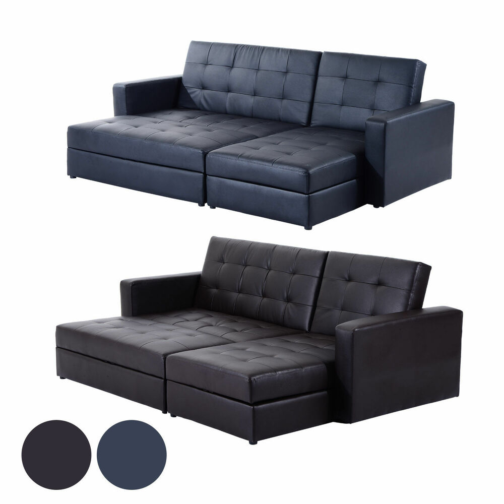 Sofa bed storage sleeper chaise loveseat couch sectional for Sofa bed 3 2