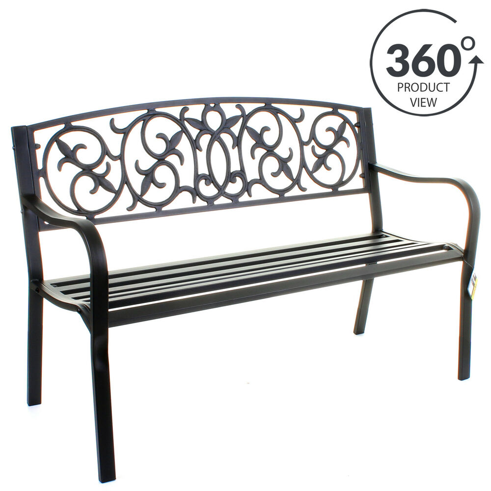 home metal bench outdoor benches p convertible lifetime depot the patio