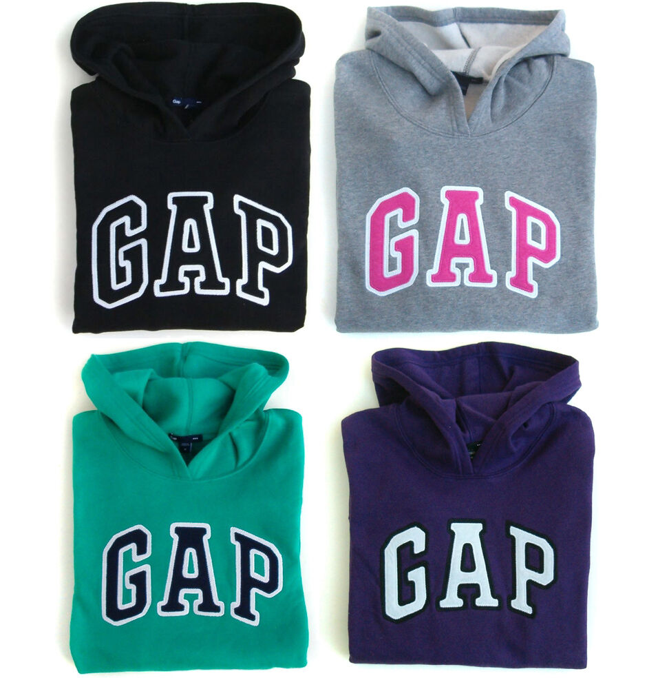 gap logo damen kapuzen sweatshirt pullover kapuzenpulli. Black Bedroom Furniture Sets. Home Design Ideas