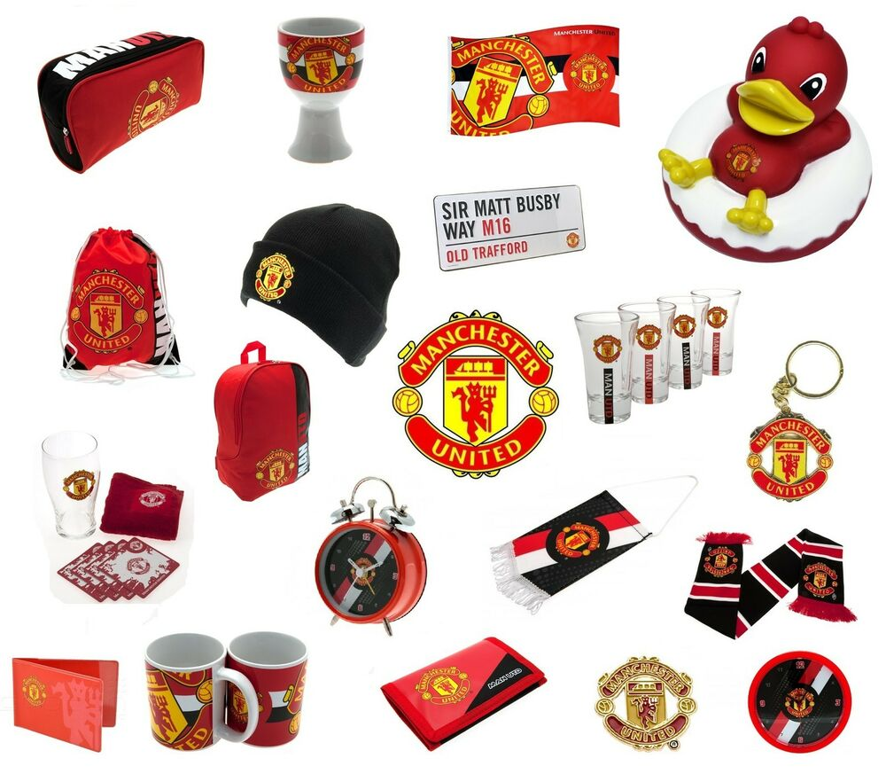 Manchester united official football club merchandise for Man u bedroom stuff