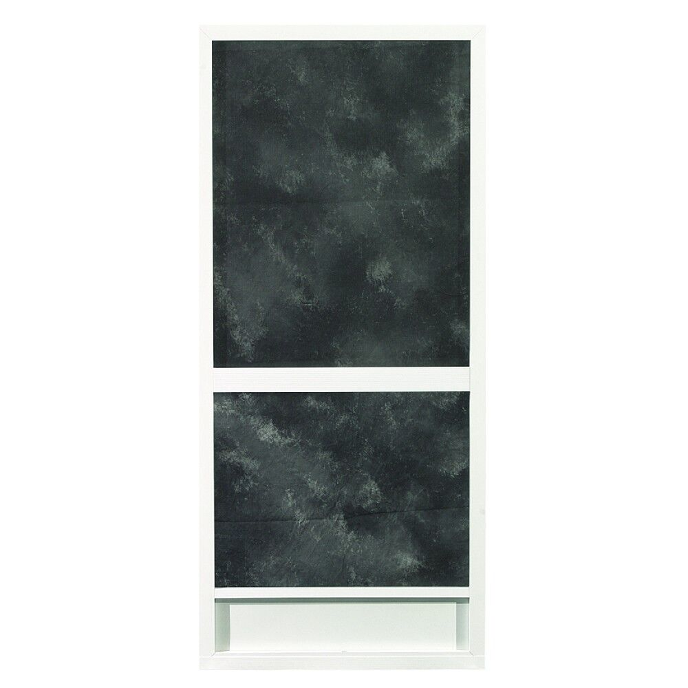 Ez screen door kit aluminum ebay for Storm door with roll up screen