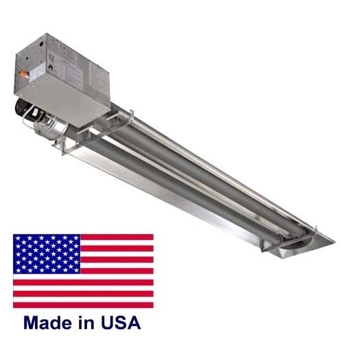 Compact Infrared Tube Heater Commercial 45 000 Btu