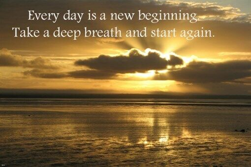 Sunrise Robuck Bay MOTIVATIONAL POSTER QUOTE 24X36 Golden