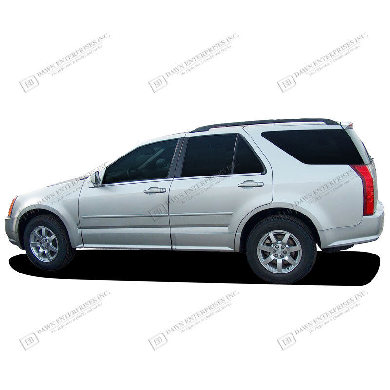 Cadillac Srx: For: CADILLAC SRX Painted Body Side Mouldings Moldings