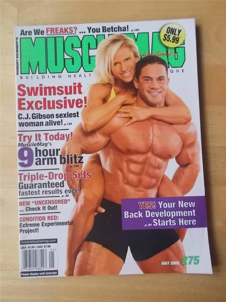 MUSCLEMAG bodybuilding muscle magazine/FRANK RICHARDS and CORY EVERSON 6-86 #58