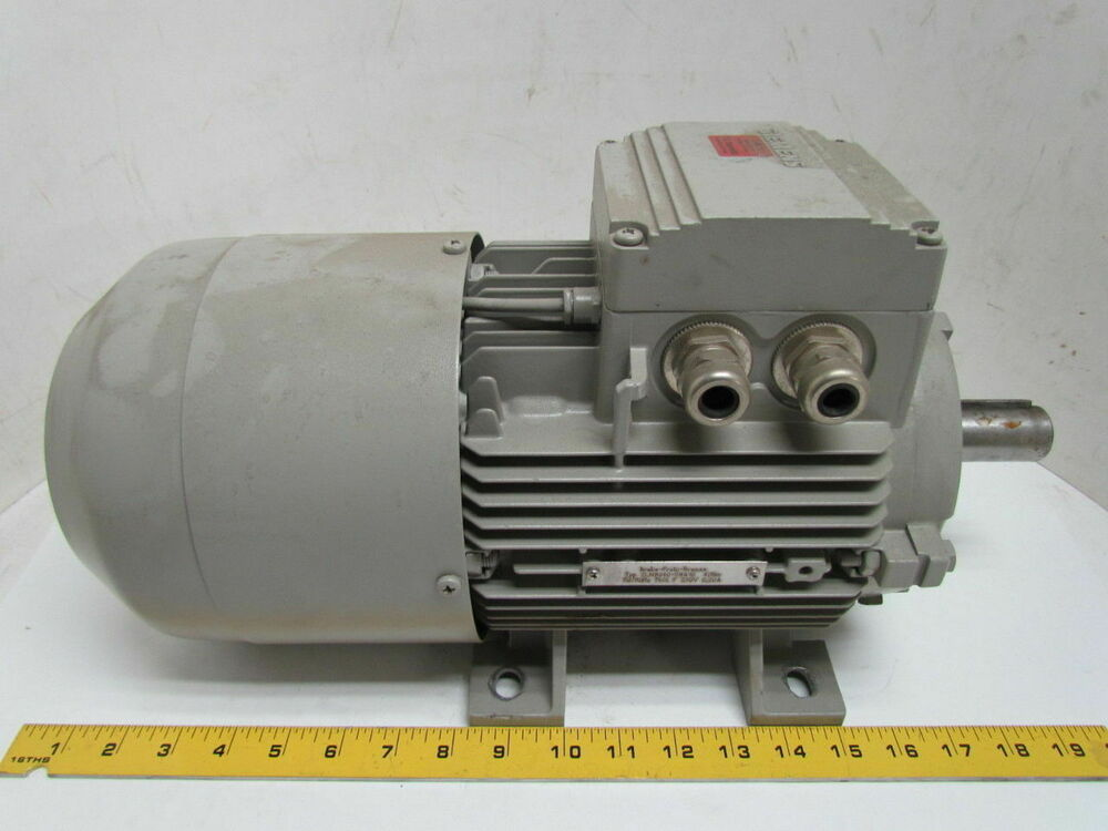 Siemens 1la71074aa60 Z 4 6hp 1720rpm 3ph Electric