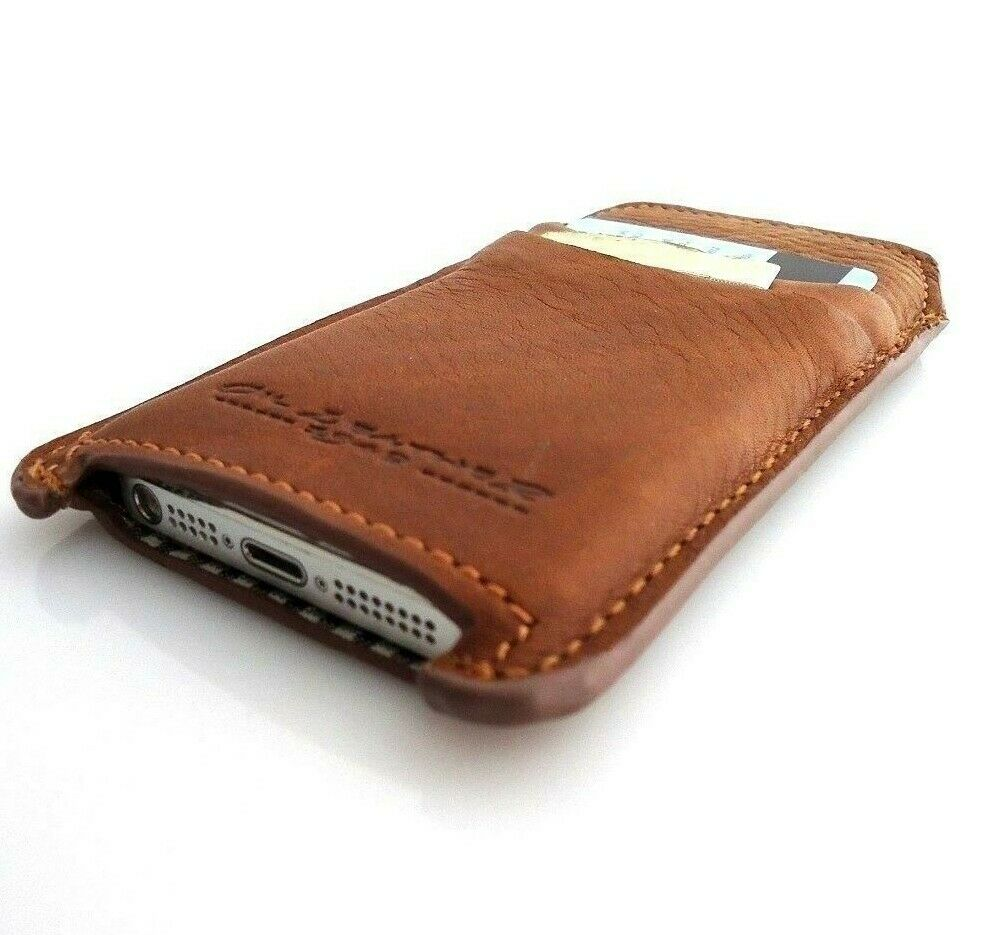 iphone 5 leather case genuine vintage leather for iphone 5 s cover book 14536