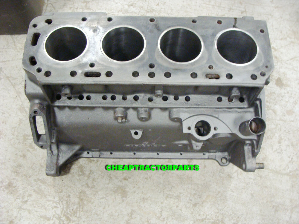 Tractor Engine Parts : Naa jubilee ford tractor engine block new sleeves crack