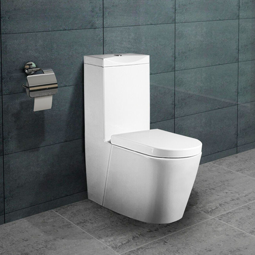 lux aqua stand wc toilette mit sp lkasten nano beschichtu. Black Bedroom Furniture Sets. Home Design Ideas