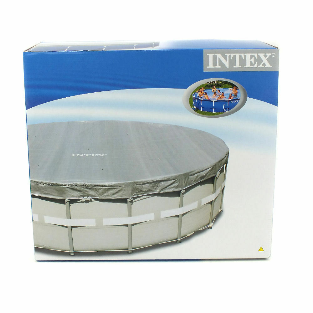 Intex debris cover 18ft 549cm ultra frame above ground - Swimming pools covers above ground ...