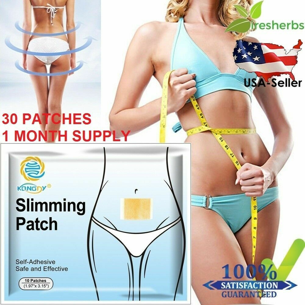#1 STRONGEST - SLIM WEIGHT LOSS PATCH DIET SLIMMING BEST ...