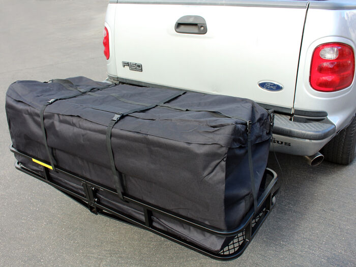 58 Quot Large Cargo Carrier Bag Truck Hitch Roof Top Rack